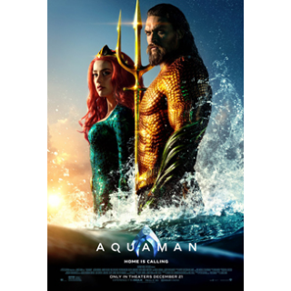 Aquaman 4K UHD Digital Movie Code!