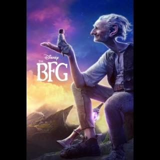 The BFG HD Digital Movie Code!