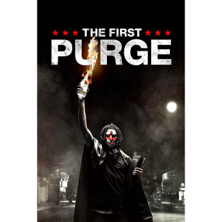 The First Purge 4K UHD Digital Movie Code!