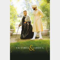 Victoria & Abdul HD Digital Movie Code!