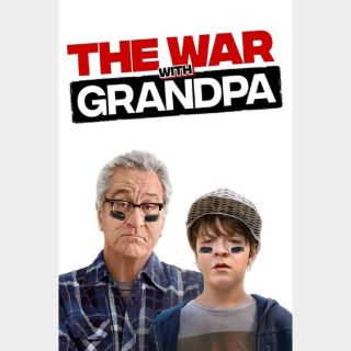 The War with Grandpa HD Digital Movie Code!!