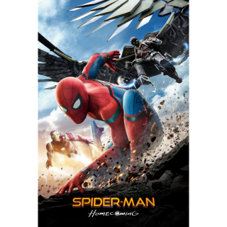 Spider-Man: Homecoming HD Digital Movie Code!