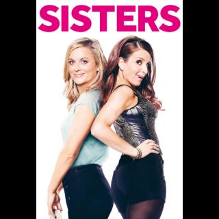 Sisters Unrtated HD Digital Movie Code!