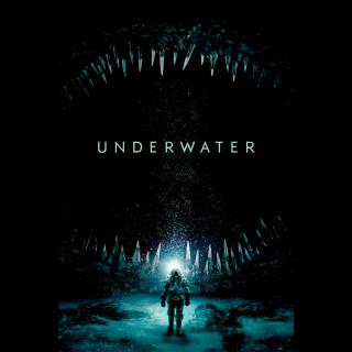 Underwater  FULL HD DIGITAL MOVIE CODE!!