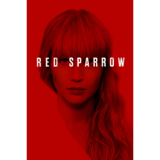Red Sparrow HD Digital Movie Code!