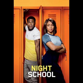 Night School Extended 4K UHD HD Digital Movie Code!