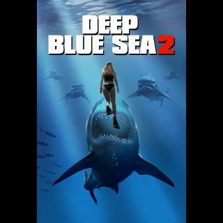 Deep Blue Sea 2  FULL HD DIGITAL MOVIE CODE!!