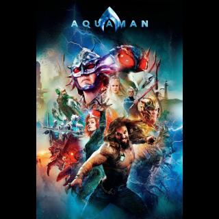 Aquaman HD Digital Movie Code!