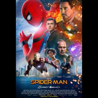 Spider-Man: Homecoming HD Digital Movie Code!