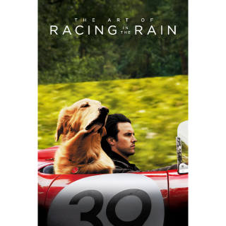 The Art of Racing in the Rain HD Digital Movie Code!!