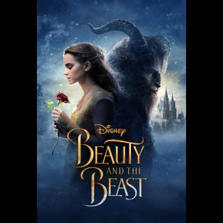 Disney Beauty and the Beast HD Digital Movie Code!