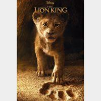 Disney The Lion King Live Full HD Digital Movie Code!!