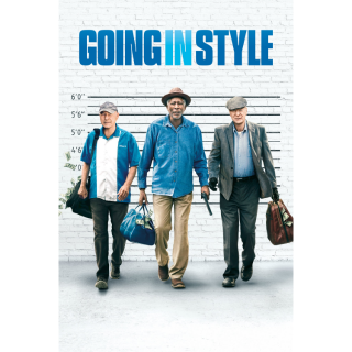 Going in Style HD DIgital Movie Code!
