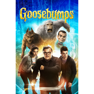 Goosebumps HD Digital Movie Code!