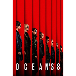 Ocean's Eight HD Digital Movie Code!