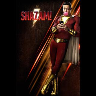 Shazam! 4K UHD Digital Movie Code!