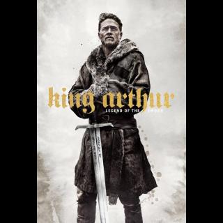 King Arthur: Legend of the Sword HD Digital Movie Code!
