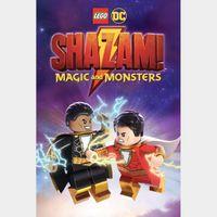 LEGO DC: Shazam! Magic and Monsters  FULL HD DIGITAL MOVIE CODE!!