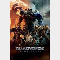 Transformers: The Last Knight  FULL HD DIGITAL MOVIE CODE!!