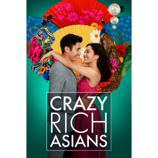 Crazy Rich Asians HD Digital Movie Code! ACTUAL CODE NOT INSTAWATCH!