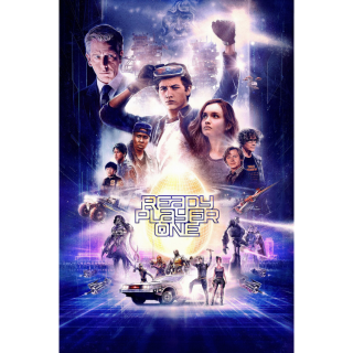 Ready Player One HD Digital Movie Code!