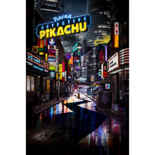 Pokémon Detective Pikachu HD  Digital MovieCode!
