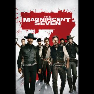 The Magnificent Seven HD Digital Movie Code!