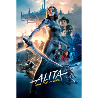 Alita: Battle Angel HD Digital Movie Code!