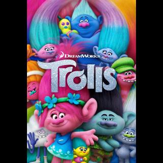 Trolls HD Digital Movie Code!!