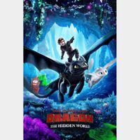 How to Train Your Dragon: The Hidden World  FULL HD DIGITAL MOVIE CODE!!