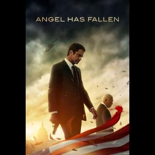 Angel Has Fallen  4K UHD DIGITAL MOVIE CODE!!   4K   4K
