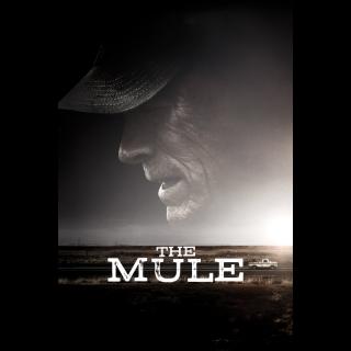 The Mule 4K UHD Digital Movie Code!