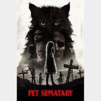 Pet Sematary  FULL HD DIGITAL MOVIE CODE!!
