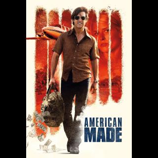 American Made 4K UHD Digital Movie Code!