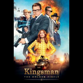 Kingsman: The Golden Circle HD Digital Movie Code!