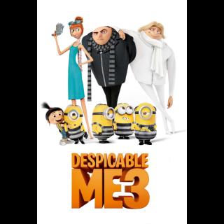 Despicable Me 3 4K UHD Digital Movie Code!