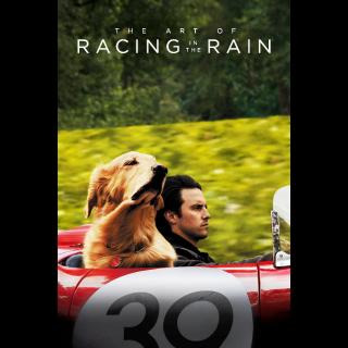 The Art of Racing in the Rain HD Digital Movie Code!