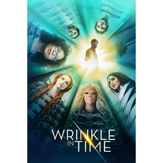 A Wrinkle in Time HD Digital Movie Code!