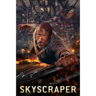 Skyscraper 4K UHD Digital Movie Code!