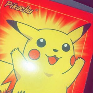 Pikachu Pokémon 23K Gold Plated Limited Edition Trading Card in Pokeball Unopened