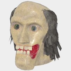 Apparel | Fasnacht Toothy Man Mask