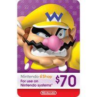 $70.00 Nintendo eShop Gift Card - (Digital) - Instant Delivery