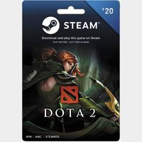 $20.00 Steam Gift Card US - Instant Delivery