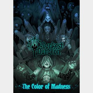 Darkest Dungeon + The Color Of Madness (DLC) Steam Key GLOBAL