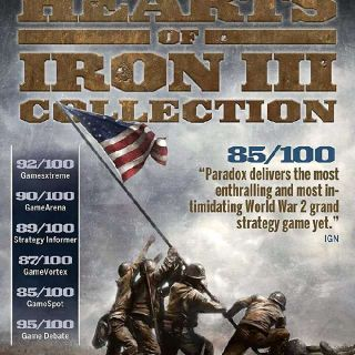 Hearts of Iron III Collection Steam Key GLOBAL