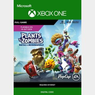 Plants vs. Zombies: Battle for Neighborville (Xbox One) Xbox Live Key UNITED STATES