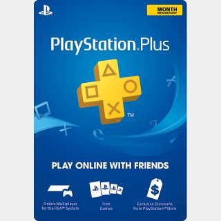 PlayStation Plus 3-Month (Automatic Delivery)