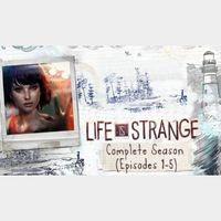 Life is Strange Complete Season Episodes 1-5 pc steam