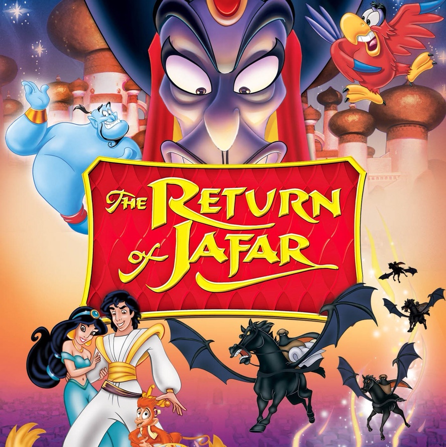 Disney's Return of Jafar sequel to Aladdin that wasn't up for an Academy Awards even though the Oscars offered by AMPAS are for movies but not movies that aren't championed by AMPAS for Oscars which are known as Academy Awards. Apologies to all screenreaders for this SEO stuff.