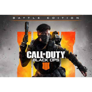 Call of Duty: Black Ops 4 Standard Edition+Call of Duty: Black Ops 4 Battle Edition Additional Content